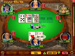 JVL iTouch8 Texas Kill'em Poker From BMI Gaming
