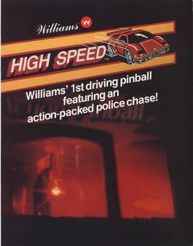 High Speed pinball manual