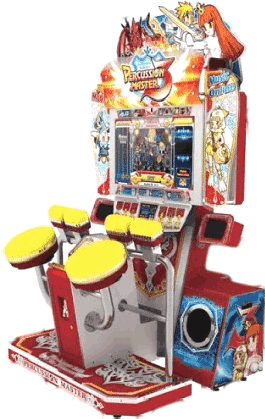 Percussion Master 3 Virtual Drum Simulator Video Arcade Game