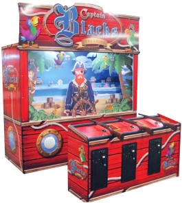 Captain Blacks Carnival Arcade Shooting Gallery From Pan Amusements