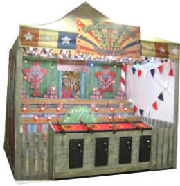 County Fair Carnival Arcade Shooting Gallery From Pan Amusements