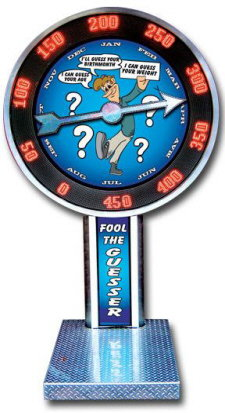 Fool The Guesser Carnival / Midway Style Weight / Age / Birthday Guessing Game Machine