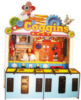 Professor Coggins Carnival Arcade Shooting Gallery From Pan Amusements