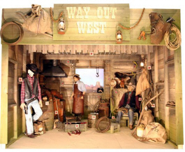 Way Out West Classic Midway Shooting Gallery Machine From Pan Amusements