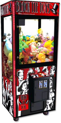 Black Tie Toys Crane Claw Game Machine