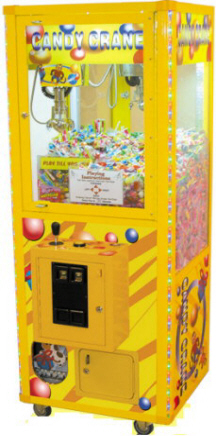 "Candy Crane 24"" Claw Crane Game Machine By Smart Industries"