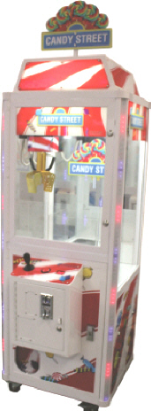 Candy Street Candy Crane Redemption Game