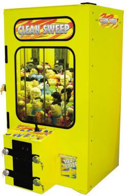 "Clean Sweep Outdoor Weatherproof 42"" Crane Claw Machine | By Smart Industries"