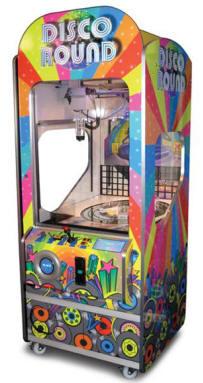 Disco Round Rotary Crane Hybrid Prize Redemption / Merchadiser From Elaut USA
