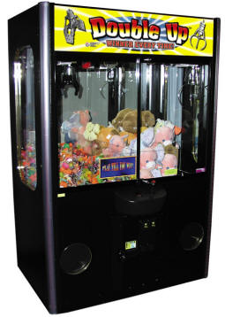 "Double Up Winner Every Time 48"" and 60"" Claw Crane Machine 