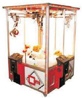 Carre Crane EX1 4 Player Crane Claw Machine From Elaut USA