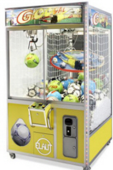 Goool Crane / Cosmic Goal Crane Redemption Game From Elaut USA