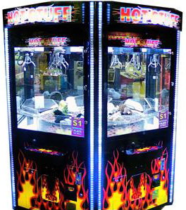 Hot Stuff 6 Player Big Rotating Crane Claw Redemption Game From Coast To Coast Entertainment
