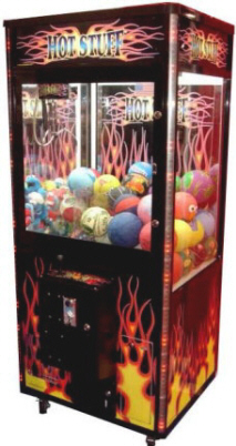 Hot Stuff Claw Crane Redemption Game From Coast To Coast Entertainment