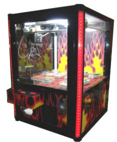 Hot Stuff Compact Wall Mounted / Table Top Mount Crane Game