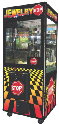 Jewelry Stop Claw Crane Redemption Game From Coast To Coast Entertainment