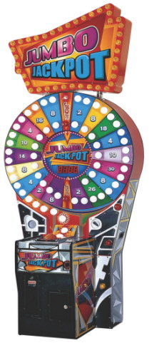 Jumbo Jackpot Ticket Redemption Wheel Game From Coast To Coast Entertainment