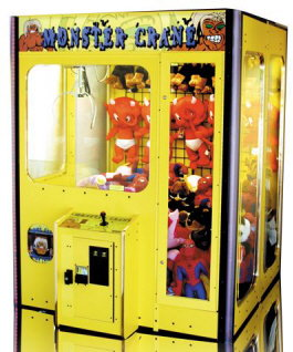 Monster Crane Machine - Yellow Model By Smart Industries