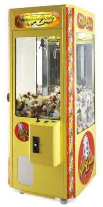 Mr Claw Crane Claw Redemption Game Machines From Elaut USA