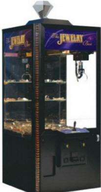Pinnacle Jewelry Box Crane Machine   ICE Games