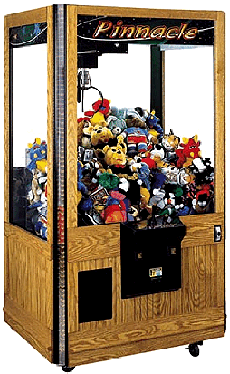 Pinnacle Oak Crane Machine From ICE Games