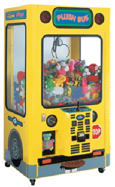 Plush Bus Crane Game From ICE Games