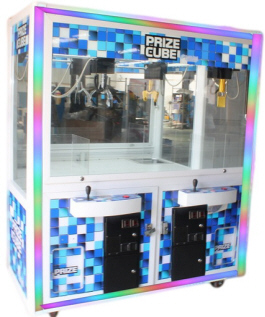 "Prize Cube 38"" Dual Player Crane Machine Game 