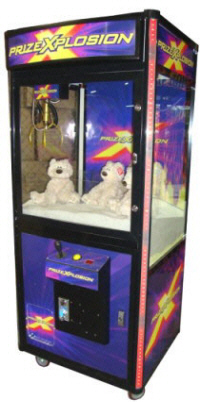 Prize Xplosion Crane Redemption Game Purple Model - Coast To Coast
