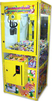 Sweet Shoppe Candy Crane Game From Coastal Amusements