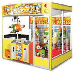The Big One Giant Crane Claw Redemption Game Machine From Elaut USA