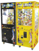 "Toy Chest 31"" Crane Machines - Black & Yellow By Smart Industries"