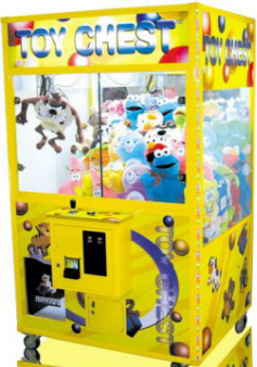 "Toy Chest 45"" Crane Claw Machine From Smart Industries"