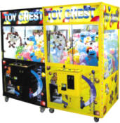 "Toy Chest 45"" Crane Machines - Black & Yellow By Smart Industries"