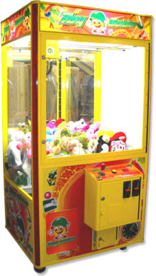 "Toy Soldier 40"" Plush Toy Crane Redemption Machine"