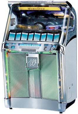 Wurlitzer Classic 2000 Coin Operated CD Jukebox