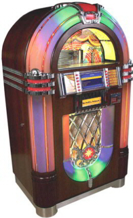 Digital Bubbler Model 1015 Digital CD Jukebox 600CD By Chicago Gaming Company