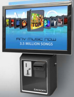 JVL Boom Streaming Downloading Internet Jukebox Music System - Wall Mount