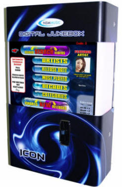 NSM Icon Internet Jukebox From NSM Music - Black / Purple