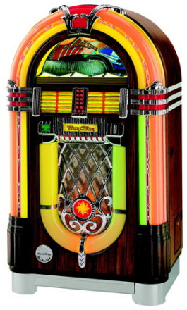 Wurlitzer One More Time Model 1015 45 RPM Viny Record Jukebox By Wurlitzer Jukeboxes