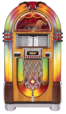 Rock Ola CD Bubbler Jukebox | Model CD-8C / J-70324-A / J-70325-A / J-703260-A