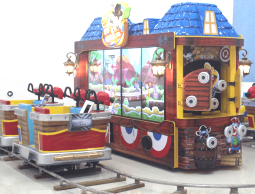 Bandit Express Arcade Interactive Ticket Redemption Kiddie Train Ride From UNIS Games