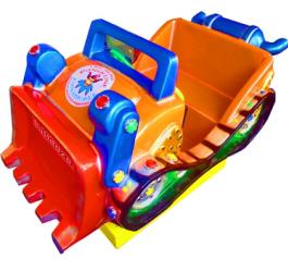 Bulldozer Kiddie Amusement Ride From Punchline