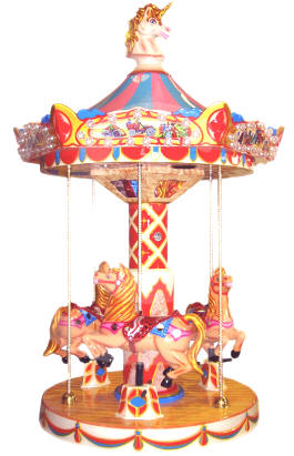 Carousel 1900 Kiddy Ride From Falgas