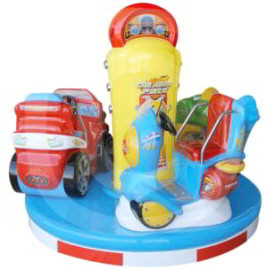 Carousel Grand Prix Mix Kiddie Ride From Falgas