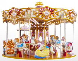 Carousel Heron Classic Carrousel Ride From Falgas
