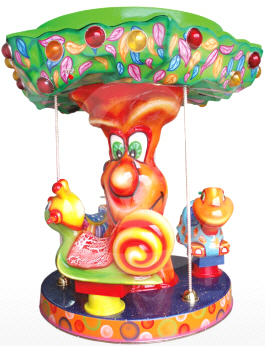 Carousel Tutti Frutt Kiddie Carrousel Ride From Falgas