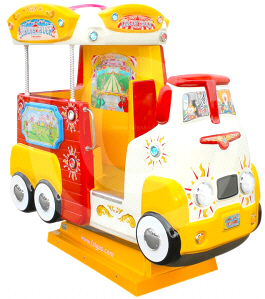 Circus Truck Kiddie Ride From Falgas