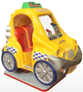 City Taxi Car Kiddie Ride Falgas
