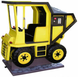 Dump Truck Kiddie Construction Truck Ride WKR115 From Zamperla Asia Pacific / ZAP Kiddy Ride