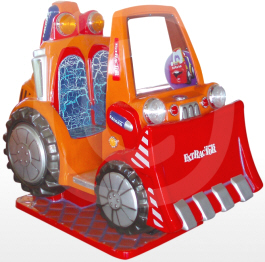 Extractor V09 Bulldozer Kiddy Ride - Falgas